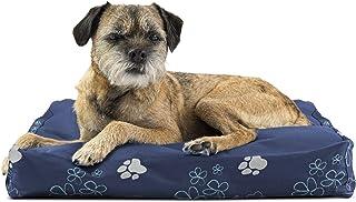 سرير للكلاب من Furhaven Pet | سرير حيوانات أليفة تقليدي مستطيل الشكل بوسادة وسادة فاخرة مع غطاء قابل للإزالة للكلاب والقطط...