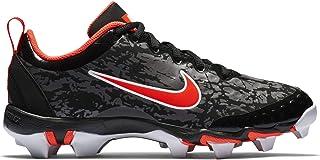 5e85d8b9c5ca Nike Kids Hyperdiamond 2.5 Keystone Baseball Cleat Black White Persian  Violet Infrared Size