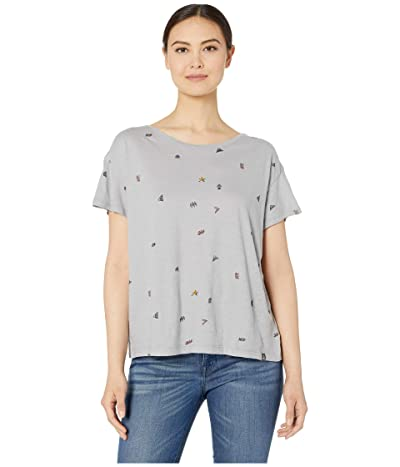 Prana Chez Tee (Gray Heather Vibes) Women