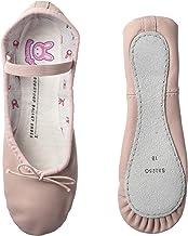 (Little Kid (4-8 Years), 7.5 A US Little Kid, Pink) - Bloch Dance Girl's Bunnyhop Full Sole Leather Ballet Slipper/Shoe