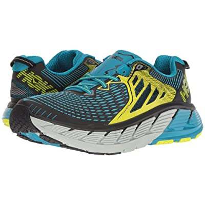 Hoka One One Gaviota (Black/Caribbean Sea) Men