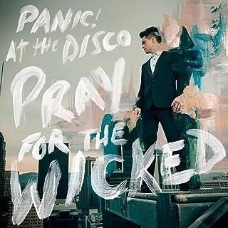 シャーウッドグッズ 12インチx12インチ ポスター レアパニック! at The Disco Pray for The Wicked アルバムカバー