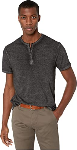 Kasum Short Sleeve Split Neck Henley