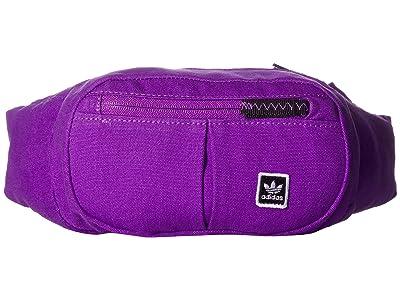 adidas Skateboarding Hip Bag (Active Purple) Cross Body Handbags