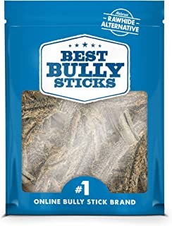Best Bully Sticks 100% Natural Beef Tripe Dog Chews - Made of All-Natural, Free-Range, Grass-Fed Beef