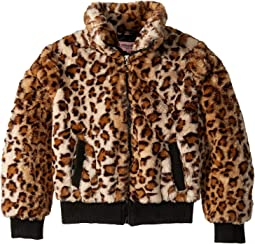 Amanda Faux Fur Bomber Jacket (Little Kids/Big Kids)