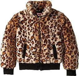 Amanda Faux Fur Bomber Jacket (Little Kids/Big Kids)