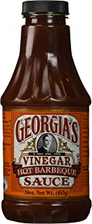 The Sauce Company Georgia's Barbeque Sauce, Vinegar Hot, 16 Ounce