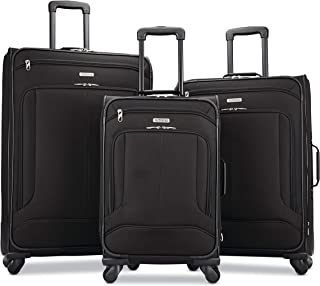 Pop Max Softside Luggage with Spinner Wheels, Black,...