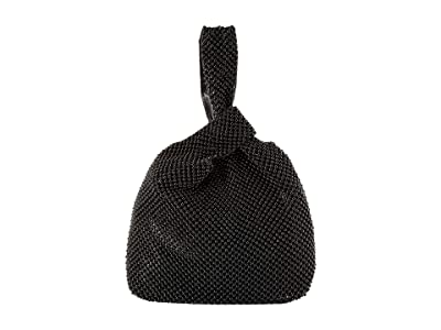 Jessica McClintock Logan Ball Mesh Pouch (Black) Handbags