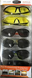 Indoor/Outdoor Safety Glasses High Mass & High Velocity Impact Protection