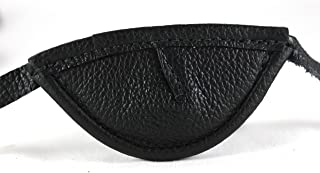 slim leather eye patch