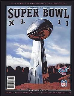 Super Bowl XLI Program - Colts / Bears 2007
