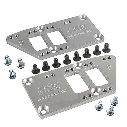 LSX Innovations AL11 LS1 Swap motor mounts Adjustable 4 position Billet Aluminum LS Swap LS Conversion