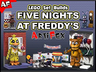Clip: Lego Set Builds Five Nights at Freddy's - Artifex