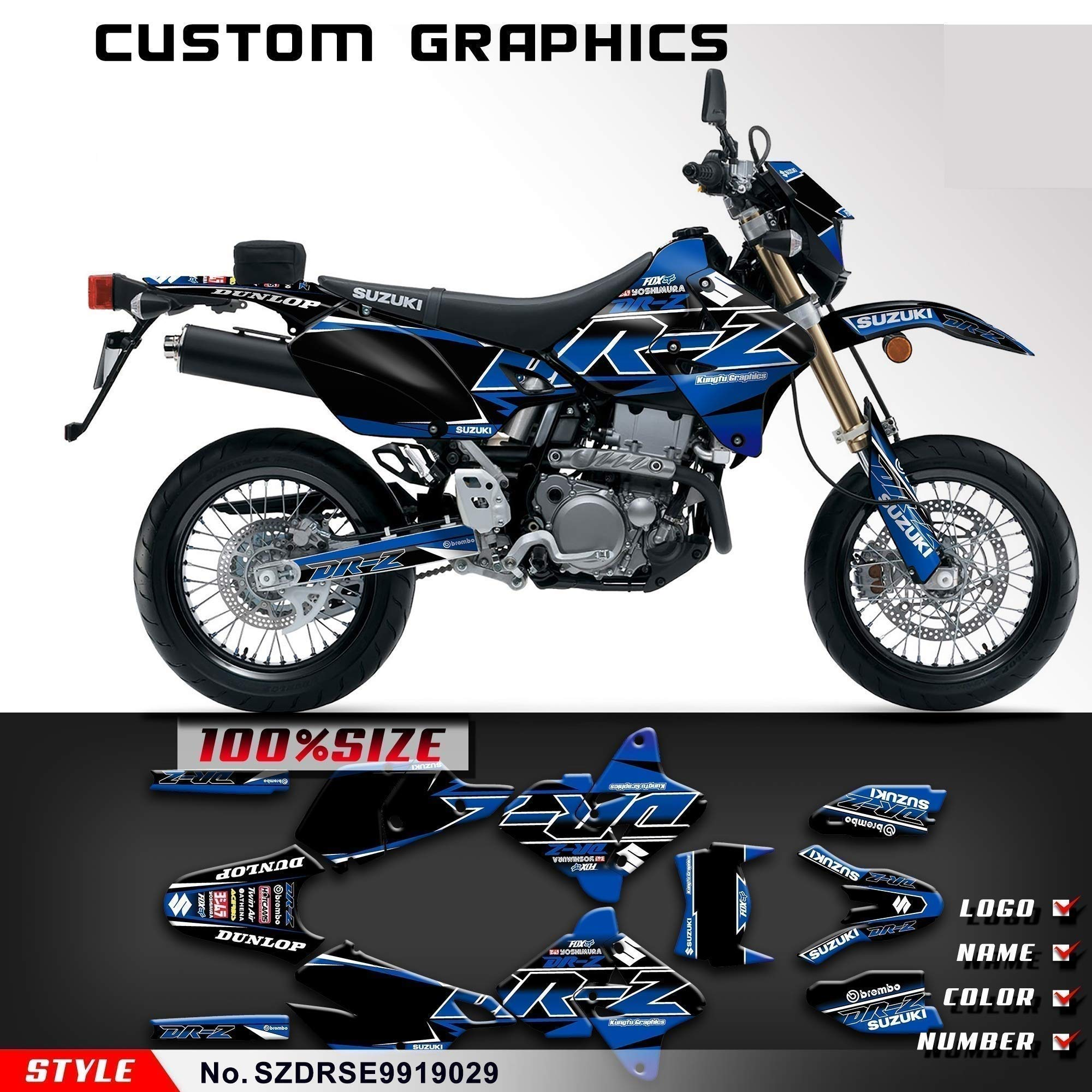 drz 400 e amazon com Suzuki LT80 Parts Diagram