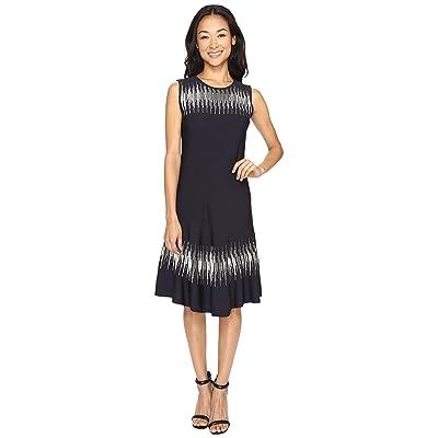 NIC+ZOE Breaking Waves Twirl Dress (Multi) Women