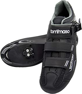 Tommaso Strada 200 - Holiday Special Pricing - Road Touring Cycling Spinning Shoe with Buckle