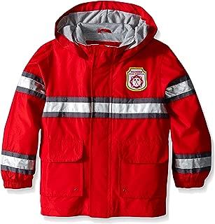 Boys' Toddler Fireman Raincoat Slicker