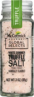 McCormick Gourmet Global Selects, White Summer Truffle Salt from France, 3 oz