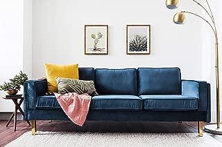 Best navy blue velvet couch Reviews
