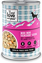 "I and love and you"" Naked Essentials Wet Dog Food – Grain Free and Canned.."