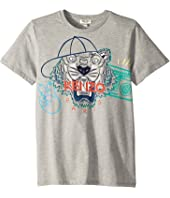 Kenzo Kids - Summer Tiger Tee (Big Kids)