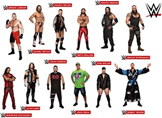 FATHEAD Superstars Collection-Large Officially Licensed WWE Removable Wall Decals, Multicolor