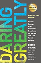 Cover image of Daring Greatly by Brené Brown