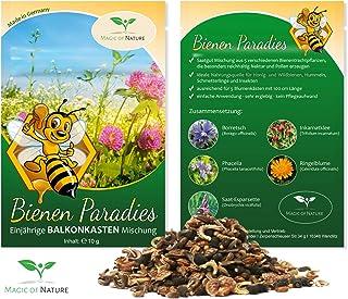 Paraíso para Abejas - 10g Semillas - mezcla (anual) para jardineras - Plantas aptas para abejas para balcón y terraza.