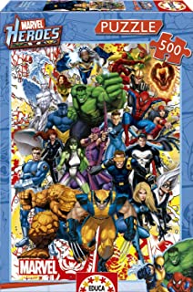 Best marvel heroes jigsaw puzzles Reviews