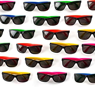 Neliblu Neon Bulk Kids Sunglasses Party Favors - 30 Pack...