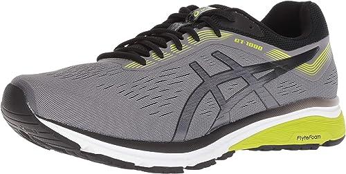 ASICS - - Chaussures Gt-1000 7 (2E) pour Hommes, 44.5 2E EU, Carbon noir  tout en haute qualité et prix bas