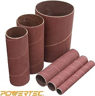WEN 65910SP40 40-Grit 10-Inch Pre-Cut Ready-to-Wrap Drum Sander Sandpaper 4-Pack