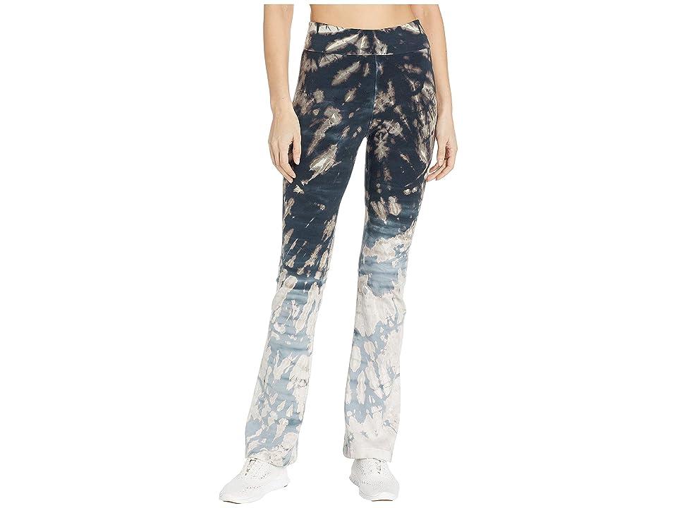 Hard Tail Rolldown Bootleg Flare Pants (Skeleton Horizon #1) Women