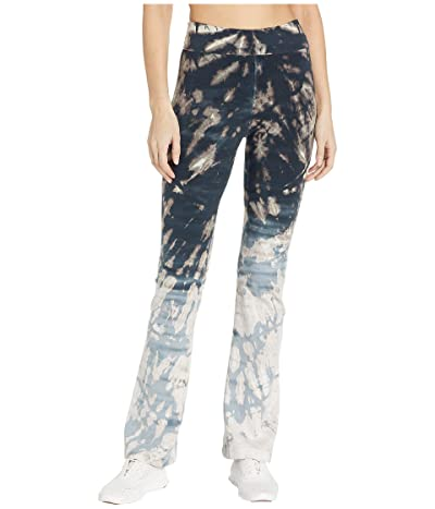 Hard Tail Rolldown Bootleg Flare Pants (Skeleton Horizon #1) Women