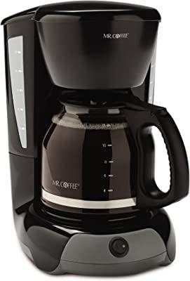 Mr. Coffee 12-Cup Switch Coffee Maker, Black
