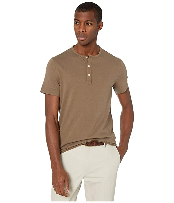 Michael Kors Cotton Silk Crepe Henley