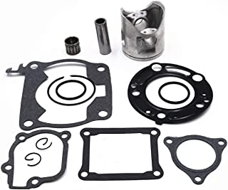 Carbman 53.94mm Top End Kit Piston Gaskets Bearing Compatible with CR125 2000 2001 2002