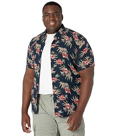 Johnny Bigg Big Tall Hibiscus Print Shirt