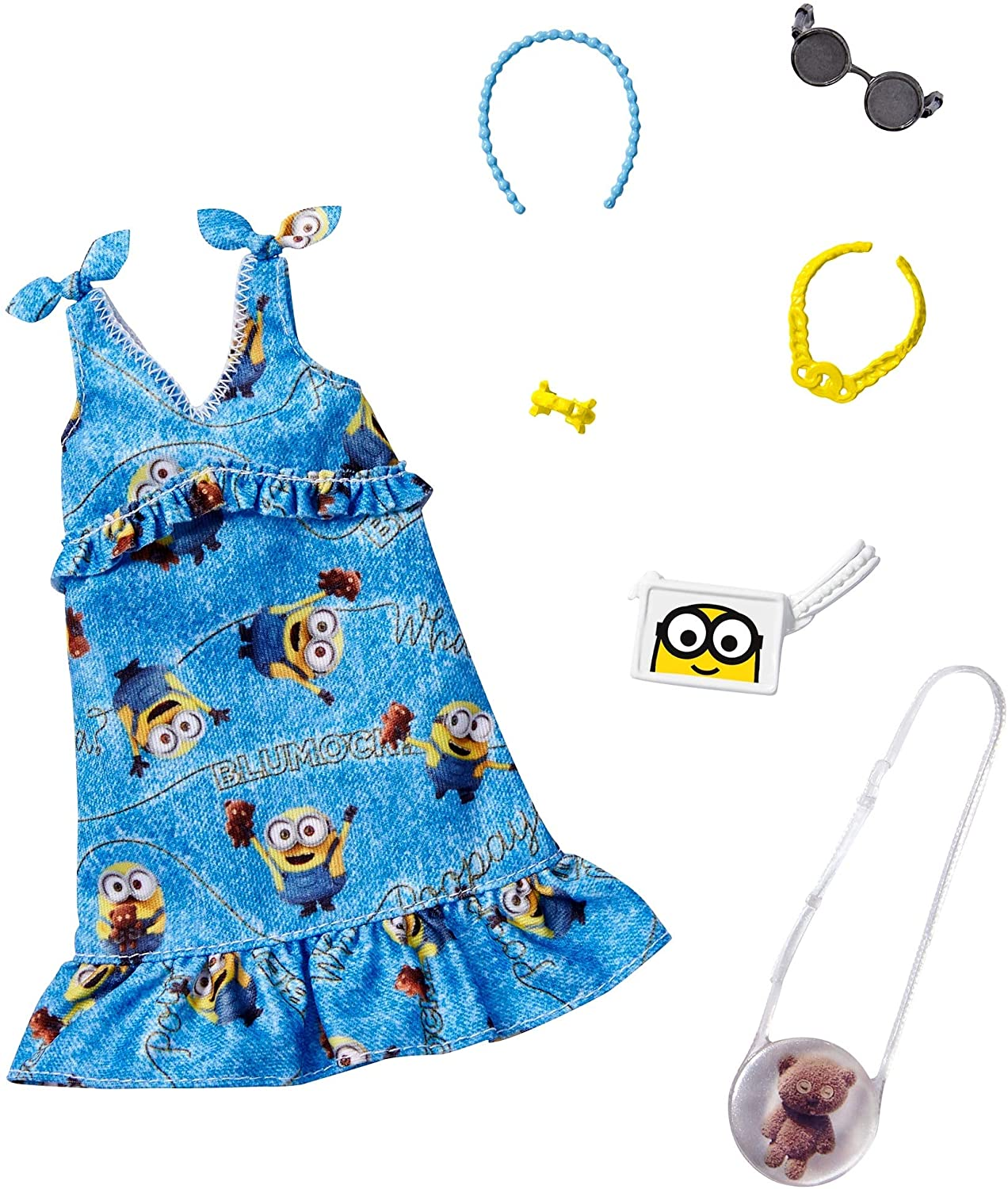 Barbie Storytelling Fashion Pack of by Min Inspired Clothes Max 73% OFF Doll Popular