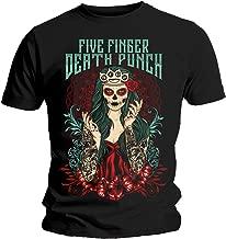 Rock Off Five Finger Death Punch 'Lady Muerta' T-Shirt