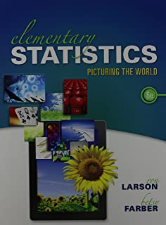 Elementary Statistics: Picturing the World and MathXL Valuepack Access Card (6-months) (6th Edition)