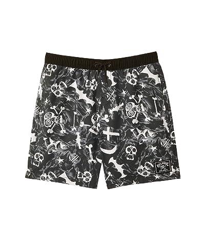Billabong Kids Bad Billys Layback Swim Shorts (Big Kids) Boy
