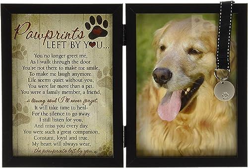 Perro Gato Mascota Memorial Tumba Maker lápida que dejaste huellas en nuestros corazones