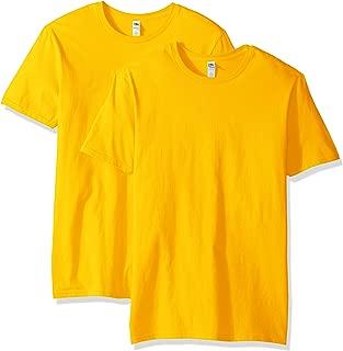 bright yellow tee