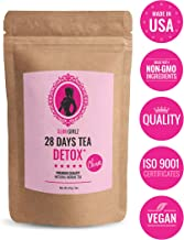 Slim Girlz 28 Days Detox Tea | for Women | Weight Loss | Slimming and Cleanse Tea | Diet and Fat Loss Tea | 85g Loose Leaf Tea | Natural Dietary Supplement | Without Additives | Active Herbal Complex