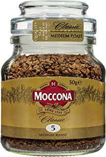 Moccona Classic Medium Roast Freeze Dried, 50 g