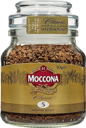 Moccona Classic Medium Roast Instant Coffee, 6 x 50 Grams