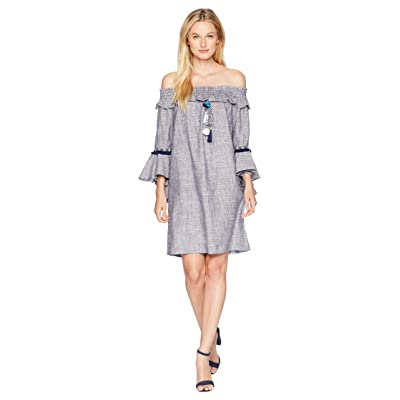 CATHERINE Catherine Malandrino Lesa Dress (Flecked Blue) Women